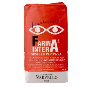 Farina per pizza a basso indice glicemico