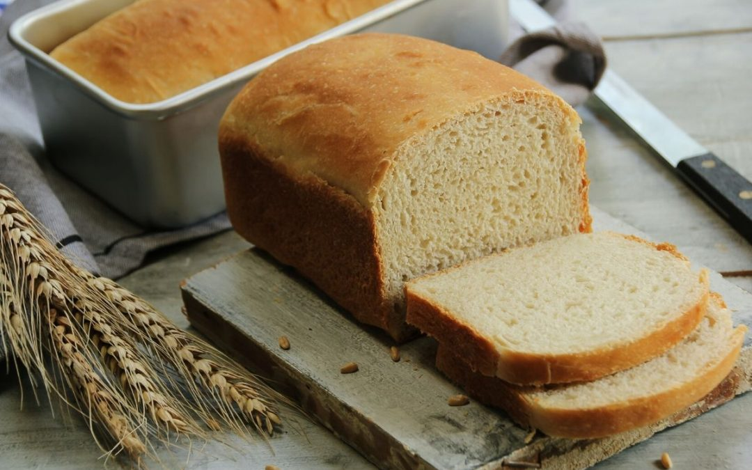 Pane morbido da fare nello stampo da plum cake
