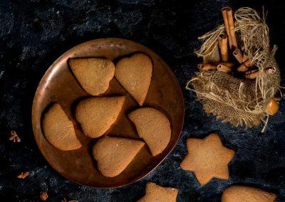 Biscotti al profumo di zenzero e arancia
