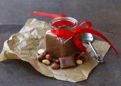Budini invernali al cacao profumati all'arancia