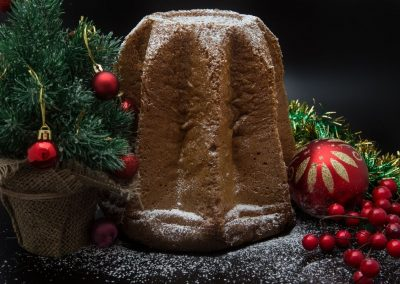 PANDORO CASALINGO RIVISITATO – versione leggera senza lattosio e senza zucchero
