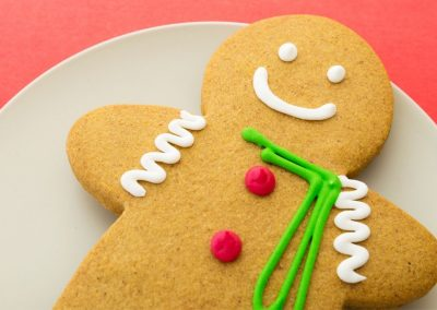 Torta a forma di gingerbread