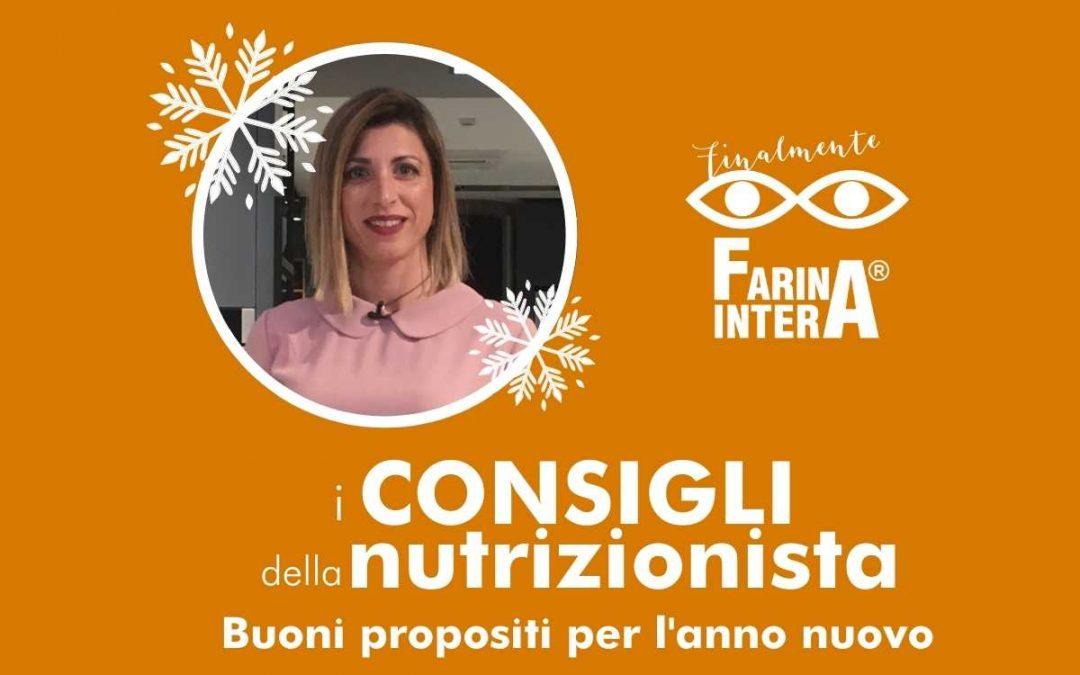 Buoni propositi per l'anno nuovo: 7 consigli della nutrizionista per una vita sana e un'alimentazione corretta!
