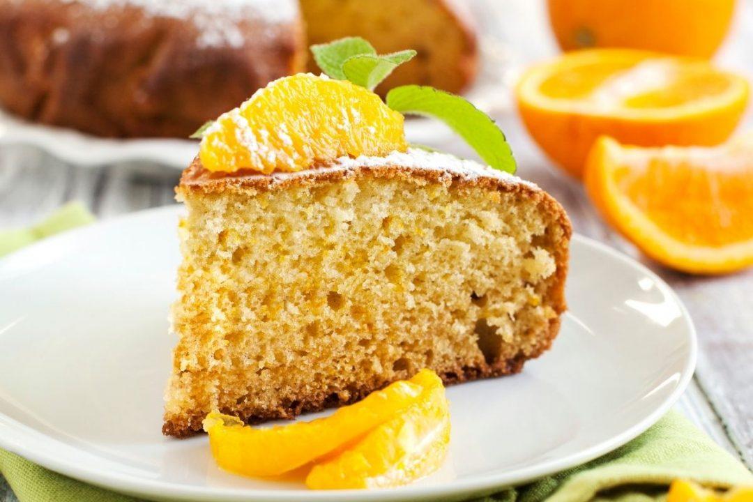 torta arancia farina intera
