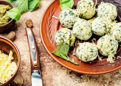 Gnocchetti verdi primaverili al cucchiaio